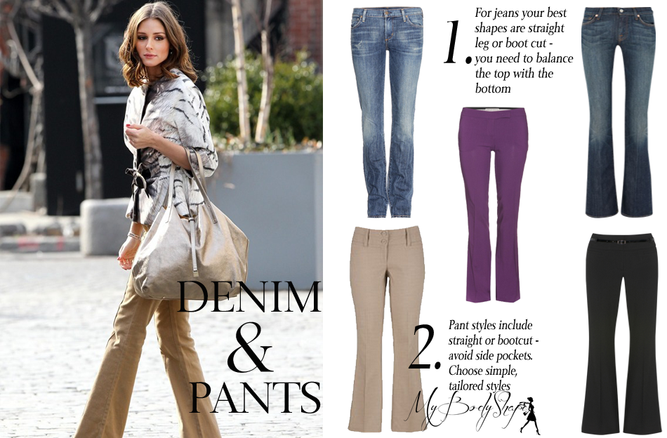 what jeans to wear for pear shaped body