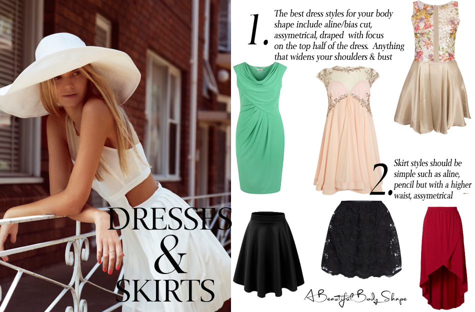 Pear Shaped Body Dresses And Skirts Style Guide Image Copy A Beautiful Body Shape