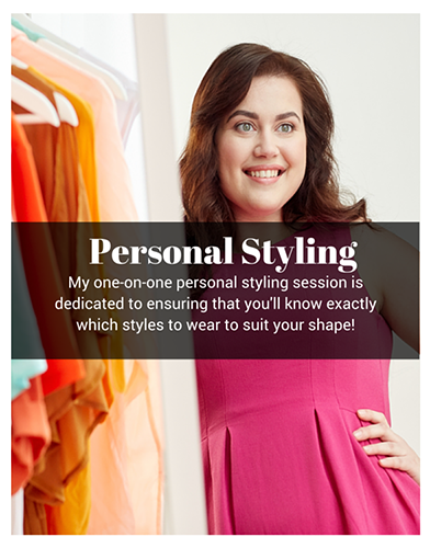 personal styling main home page image