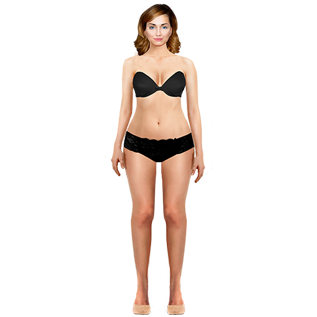 interactive wardrobe pear body shape