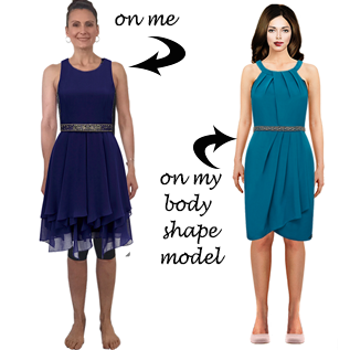 interactive wardrobe dressed images