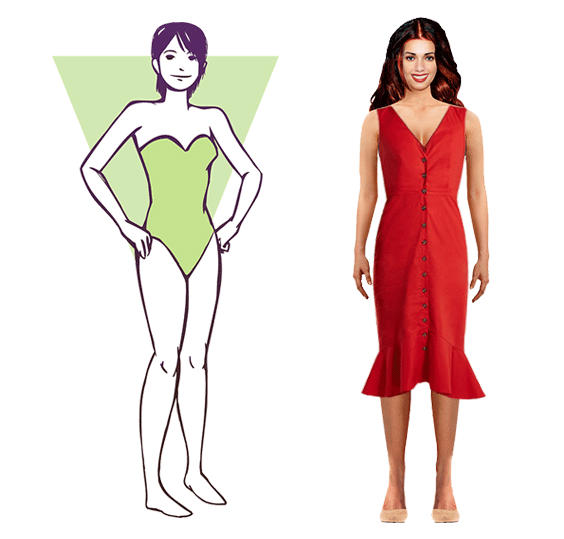 Inverted Triangle Body Shape Explained And Style Guide